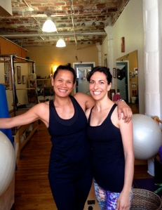My final private session with Blossom at Bridge Pilates in Brooklyn NYC